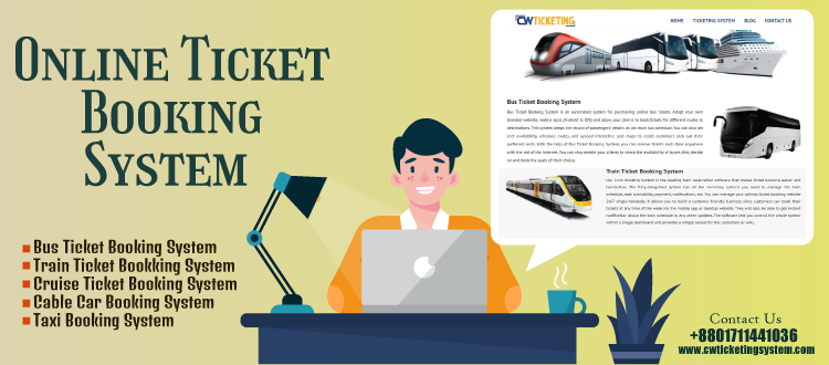 Expand your business with the online ticket booking system